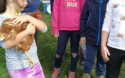Naravoslovni dan na kmetiji Veles