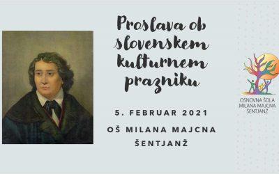 Proslava ob slovenskem kulturnem prazniku