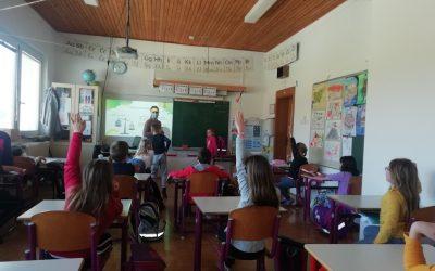 Obisk študentke delovne terapije v 3. razredu
